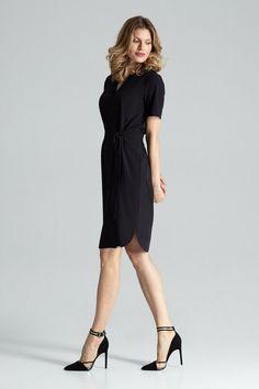 Mode féminine Robe rétro Geometry Vintage Print Vest col rond manches A ligne Robe Rouge Jaune Noir