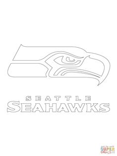 pin by eric west on stencil pinterest seahawks and american football rh pinterest com Seahawks Printable Stencil Seahawks Logo Template