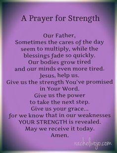 Bible art, prayers for strength and healing, bible quotes for strength, cat Faith Prayer, My Prayer, Strength Prayer, Jesus Prayer, Bible Quotes For Strength, Prayer For Work, Our Father Prayer, Pray For Strength, Prayer Room