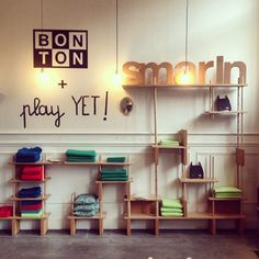 Boutique Bonton - PARIS - Play yet !