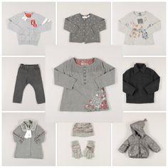 Moda infantil: la elegancia del gris