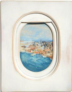 luszifer:Jim Darling's window seat paintings