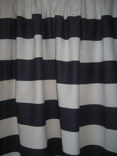 navy blue and white striped shower curtain. Blue And White Vertical Striped Shower Curtain Navy  Wide Horizontal Stripe Curtains Two Unlined Panels
