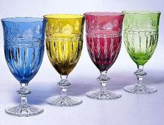 Typical Bohemian crystal ware