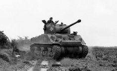 Tank sherman capturé par la Wehrmacht