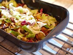 Healthy Diners, Oven Dishes, Prepped Lunches, Greek Recipes, Tapas, Casserole, Cabbage, Good Food, Food And Drink