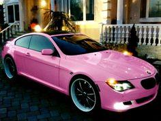 ♥ pink BMW