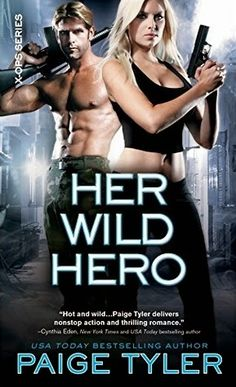 Her Wild Hero by Paige Tyler (X-Ops # 3)  This is surely a book for those who love a good military ops story with a paranormal flare.   http://tometender.blogspot.com/2015/04/her-wild-hero-by-paige-tyler-x-ops-3.html