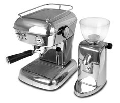 Ascaso Dream UP and Ascaso Grinder  Sign up for our next Espresso Machine Giveaway contest: http://www.espressooutlet.net/contests/