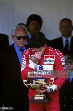 Ayrton Senna - The Family of Monaco at Formula 1 Grand Prize in Monaco city, Monaco on May 23, 1993.