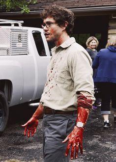 Hugh Dancy as Will Graham Hannibal Funny, Hannibal Tv Series, Nbc Hannibal, Hannibal Lecter, Sherlock Holmes, Apocalypse, Frederick Chilton, Will Graham Hannibal, Hugh Dancy