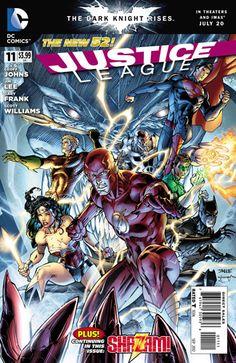Sciencefiction.com Comic Book Review: 'Justice League' #11