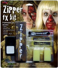 Zipper FX Horror Makeup Kit : Free Shipping & Low Prices at MagicNevin