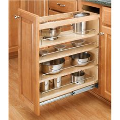 Buy the Rev-A-Shelf Natural Wood Direct. Shop for the Rev-A-Shelf Natural Wood 448 Series Wide Base Cabinet Pull Out Shelves and save. Kitchen Base Cabinets, Kitchen Cabinet Pulls, Kitchen Cabinet Organization, Kitchen Storage, Kitchen Drawers, Cabinet Organizers, Kitchen Shelves, Kitchen Organizers, Wood Shelves