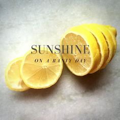 Add a little sunshine on a rainy day #lemon #oak #jewellery