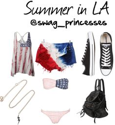 """Summer in LA"" by maddy250199 on Polyvore"
