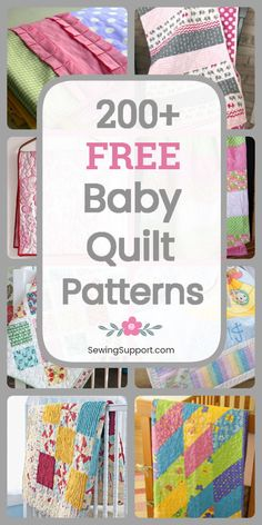 Free baby quilt sewing patterns tutorials diy project ideas Boy girl unisex and gender neutral designs Cute fun modern and traditional quilts Many simple easy designs ap. Quilt Baby, Baby Quilts Easy, Baby Girl Quilts, Girls Quilts, Simple Baby Quilts Ideas, Baby Quilt For Girls, Modern Baby Quilts, Baby Clothes Quilt, Children's Quilts
