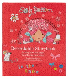 Exciting news, Emily Button has a new recordable storybook. Join Emily and Friends on their fun filled winter adventure. Buy your Emily Button recordable storybook in Marks and Spencer and record your memories, in-store & online. Exciting News, Your Voice, First Love, Buttons, Memories, Reading, Books, Fun, Products