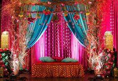 : Lavender Pearl Events Mehendi // Aysha & Omar [Decor by Sheila Burki Designs] Wedding Hall Decorations, Desi Wedding Decor, Wedding Reception Backdrop, Prom Decor, Wedding Mandap, Ramadan Decorations, Wedding Receptions, Wedding Ideas, Pakistani Mehndi Decor