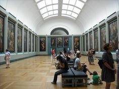 The room of Rubens; Musee de Louvre, Paris, 2009.