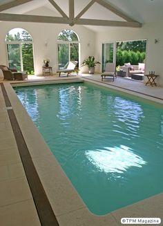 Espace d tente piscine int rieure chauff e spa hammam et sauna exterieur pinterest for Piscine d interieur