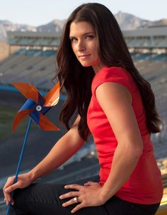 Danica Patrick NASCAR - Trendy Woman Picture Long Hairstyles 2012