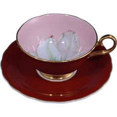 Susie Cooper Bone China England tea cup saucer dogwood. I could not resist, I bought this one. $35