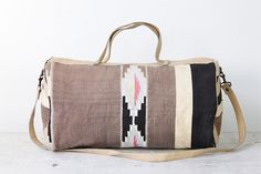Vintage Kilim Travel Bag