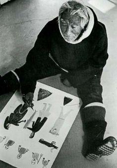 Luke Anguhadluq (Baker Lake, Nunavut) 1895-1982