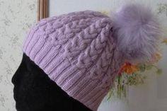 PDF knitting hat pattern Written instruction hat pattern