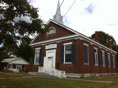 New Providence Presbyterian Church in Mercer County, Kentucky.