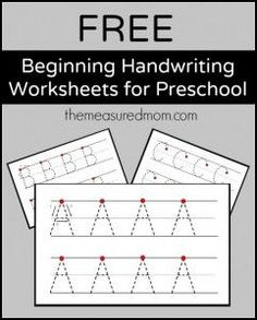 uppercase on two lines 241x300 Simple handwriting pages for preschool   now in lowercase!
