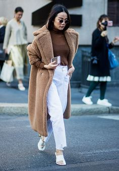 What to Wear With White Jeans: 6 Combinations for Nowness via @WhoWhatWearUK