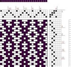 Hand Weaving Draft: Rosepath Ascending, Drafted on ...
