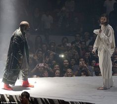 The only man bigger than himself: Kanye West kicked off his Yeezus Tour Saturday night at Seattle's Key Arena in typical grandiose style