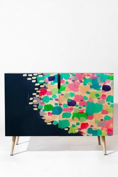 Laura Fedorowicz Summer Sprinkle Credenza | DENY Designs Home Accessories