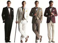 great gatsby men's fashion