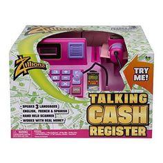 Zillionz Talking Cash Register - Pink New #Zillionz