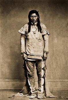Ute Chief Green Leaf - Nick-a-god 1868