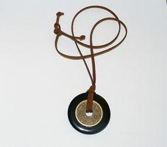 Mystic (Buddha) Necklace  Black Onyx Protection Necklace by yinyanggirldesigns, $25.00,