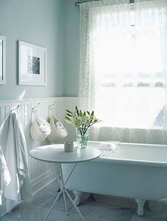 Style Board Series: Master Bathroom - The Wood Grain Cottage. would love this for the hall bath