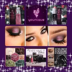 """Have a Younique on-line Party and earn FREE Younique Products!!!  Younique all natural mineral makeup. Shop 24/7 at www.enchantinglashesbykaitlin.com Younique Make-up, Try it, you will love it! Welcome to the """"On-line Make-up Spa Party""""!   Join my Team and have your own Make-up party business. So many ways to sell and earn residual  income!!"""
