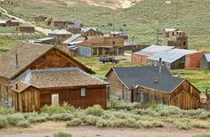 Wild West Ghost Town of Bodie, California