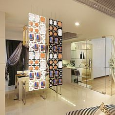 62 successful examples that speak for a room divider room divider ideas room divider curtain room divider shelf white decoration hanging steel rope Small Room Divider, Room Divider Bookcase, Divider Cabinet, Bamboo Room Divider, Living Room Divider, Diy Room Divider, Room Divider Screen, Room Screen, Bookcase Shelves