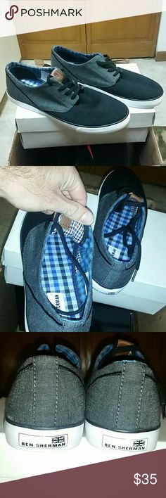 MEN SIZE 9.5 BEN SHERMAN CASUAL SHOES BRAND NEW WITHOUT BOX SIZE 9.5 MEN'S JUST A NICE CASUAL SHOE TO WEAR OUT ON A SUMMER NIGHT ANY QUESTIONS PLEASE FEEL FREE TO ASK!!! Ben Sherman Shoes Sneakers