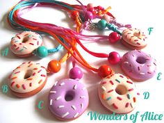 Very sweet necklaces...!