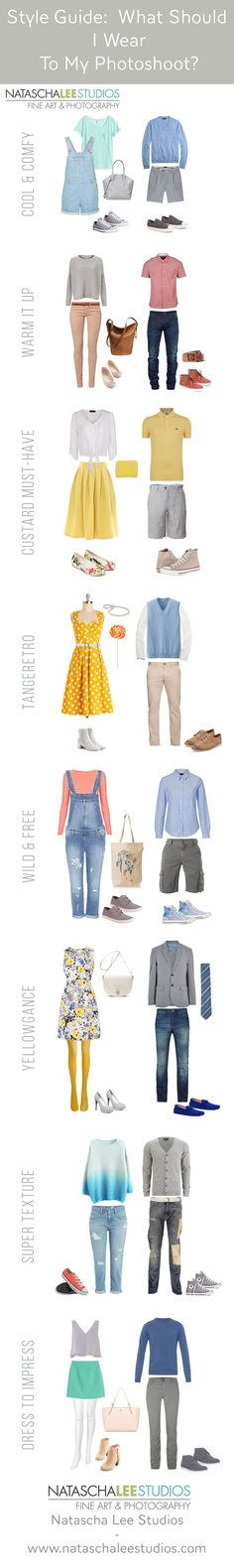What to wear for summer family portraits by Natascha Lee Studios