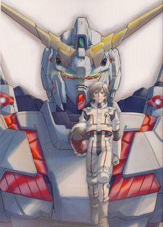 Banagher Links with the Unicorn Gundam. Gundam 00, Gundam Wing, Gundam Wallpapers, Gundam Mobile Suit, Unicorn Gundam, Mecha Anime, Otaku, Gundam Model, I Love Anime