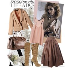 romantic fall style