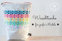 sannimade: DIY | Waschtasche für grosse Mädels